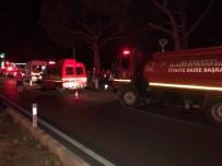 Balıkesir'de Kaza Açıklaması 2 Ölü, 1 Yaralı