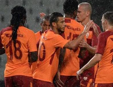 Galatasaray yeni yıldızlarıyla kazandı