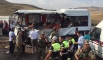 Ağrı'da Katliam Gibi Kaza Açıklaması 8 Ölü, 15 Yaralı