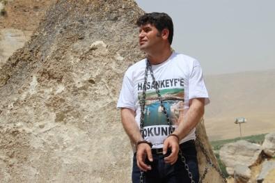 HDP'li Aslan'dan Zincirli Şov