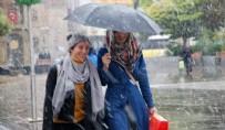 SAĞNAK YAĞMUR - Meteorolojiden 5 İl İçin Sağanak Uyarısı
