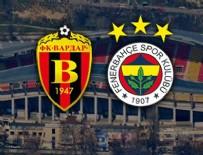 UEFA AVRUPA LIGI - Fenerbahçe Vardar'a kaybetti