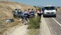 Düğün Konvoyunda Kaza Açıklaması 1 Ölü, 5 Yaralı