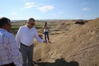 Başkan Çelik, Sarıoğlan İlçesinde Ziyaret Ve İncelemelerde Bulundu