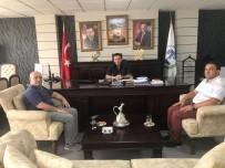 RUHİ SARI - Kültür Bakanlığı Daire Başkanı Ömer Özden Ören Başkan Bakıcı'yı Ziyaret Etti