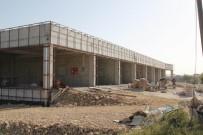 Cihanbeyli'ye Kapalı Pazar Alanı Yapımı Sürüyor