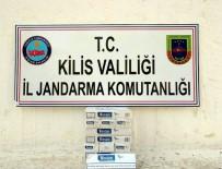 Kilis'te 220 Paket Kaçak Sigara Yakalandı