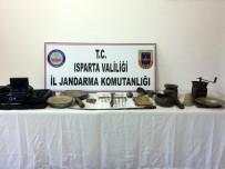 Isparta'da Tarihi Eser Kaçakçılığı Operasyonu Açıklaması 2 Gözaltı