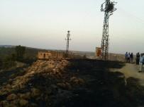 Ömerli'de Anız Yangını Bin 500 Dönümlük Araziyi Küle Çevirdi