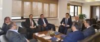 Belediye Başkanlarından MEDAŞ'a Ziyaret
