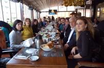 CHP Isparta İl Ve İlçe Yönetimleri Kahvaltıda Buluştu