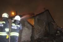 Konya'da Boş Evde Yangın