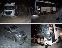 Konya'da Zincirleme Kaza Açıklaması 1 Ölü, 18 Yaralı