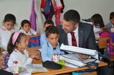 Başkan Yüzügüllü Okul Ziyaretlerine Devam Ediyor