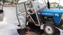 Kastamonu'da Cip İle Traktör Çarpıştı Açıklaması 4 Yaralı