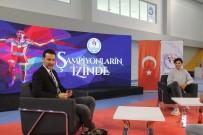 SPOR SPİKERİ - Milli Voleybolcu Neslihan Demir Güler Genç Sporcularla Buluştu