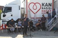 SDÜ'de Müzikli Konserli Kan Bağışı