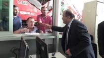 Ticaret Bakan Yardımcısı Metin, Sarp'ta İncelemede Bulundu