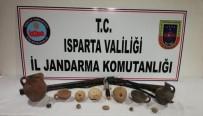 Isparta'da Tunç Çağı'na Ait 12 Parça Tarihi Eser Ele Geçirildi