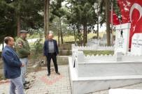 MURAT AKKOYUNLU - Bigalı Mehmet Çavuş'u Oynayan Şevket Çoruh'tan Anlamlı Ziyaret