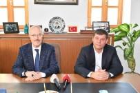 Başkan Kafaoğlu Gömeç'te Ziyaretlerde Bulundu