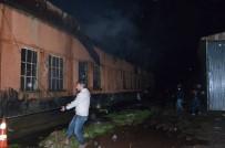 Artvin'de Oto Tamirhanesinde Yangın