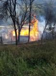 Kastamonu'da Çıkan Yangında Bir Ev Kül Oldu