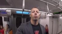 METRO KÖPRÜSÜ - Norveçli Fenomen İstanbul Metrosuna Hayran Kaldı