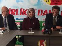 İSMAIL KONCUK - İYİ Parti Heyeti Kayseri Gazeteciler Cemiyeti'ni Ziyaret Etti