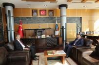 İRFAN BALKANLıOĞLU - Vali Balkanlıoğlu'ndan Başkan Alemdar'a Veda Ziyareti