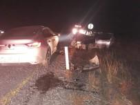 Tutak' Ta Trafik Kazası Açıklaması 2 Yaralı