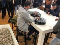 APPLE STORE - Bir küvet dolusu bozuk parayla iPhone XS satın aldı!