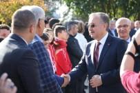 GÜNAY ÖZDEMIR - Vali Özdemir Edirne'ye Veda Etti, Protokolde Uzun Kuyruklar Oluştu
