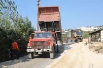 KARAAHMETLI - Erdemli'de Asfaltlama Çalışması Sürüyor