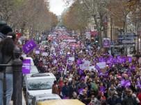 FEMINIST - Fransa'da Kadınlar Şiddete Karşı Yürüdü