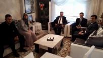 BARıŞ DEMIRTAŞ - Kaymakam Demirtaş Şehit Aileleriyle Bir Araya Geldi