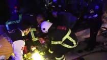 Kırklareli'de Trafik Kazası Açıklaması 2 Ölü, 8 Yaralı