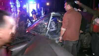 Düzce'de Zincirleme Trafik Kazası Açıklaması 1 Ölü, 2 Yaralı