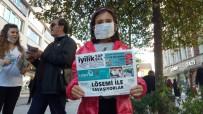 LÖSEV - Maske Takıp, Lösemiye Dikkat Çektiler