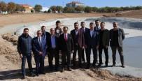 ALI UYSAL - Uşak Kalfa Korusu Mesire Alanı Hızla İlerliyor