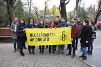 UYGURLAR - Çin'in Uygur Zulmü Protesto Edildi