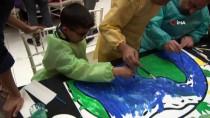 MEHMET BAYRAKTAR - Oyuncu Tuba Büyüküstün Suriyeli Çocuklarla Buluştu