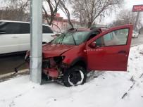 Akpınar İlçesinde Kaza Açıklaması 1 Yaralı