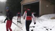 ÖZEL KUVVET - Kayaklı Koşu Milli Takımı'nın Bolu Kampı Sürüyor