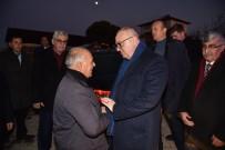 Başkan Ergün'den Şehit Babasına Ziyaret