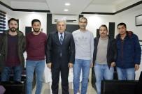 MEHMET SEZGIN - Emniyet Müdürü Yıldırım'dan Gazetecilere Ziyaret