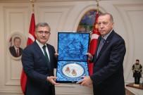 HASAN KAÇAN - Cumhurbaşkanı Erdoğan Üsküdar Belediyesini Ziyaret Etti