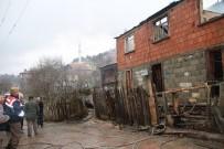 Küre'de Çıkan Yangında Bir Ev Kullanılamaz Hale Geldi