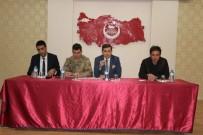 Tutak'ta Okul Güvenliği Toplantısı Yapıldı