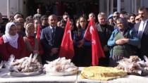 Tunceli'de Mehmetçik İçin Lokma Dağıtıldı